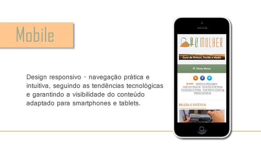 anuncie portal design responsivo BH Mulher