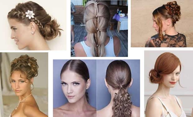 cabelos presos para festas bh mulher