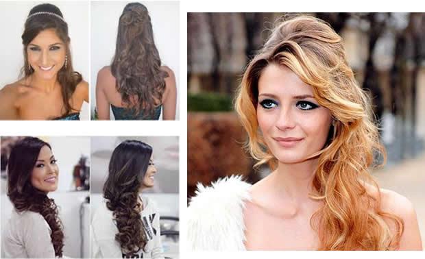 penteados festa cabelos longos bh mulher