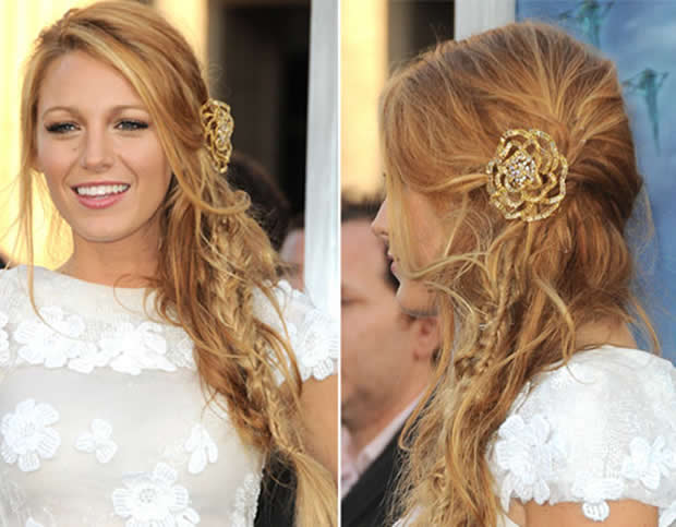penteados para cabelos compridos bh mulher