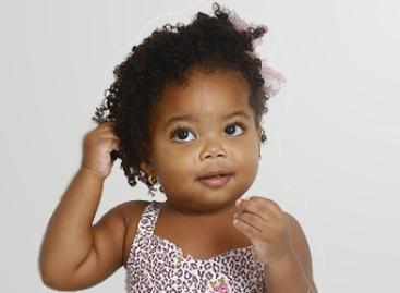 Cuidados para os cabelos de crianças