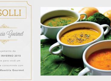 Solli promove experiência gourmet em evento