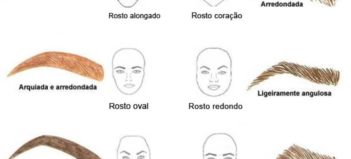 A sobrancelha ideal para cada tipo de rosto