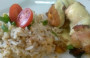 Frango com damascos e arroz de amêndoas – Por Chef Henrique Burd