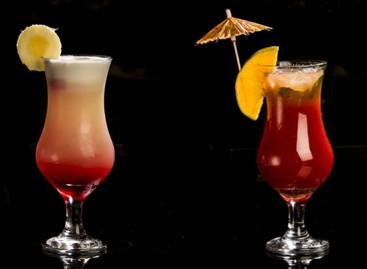 Receitas de dois drinks sem álcool para a Primavera