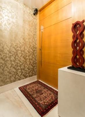 Dicas para transformar o hall de entrada bh mulher - Papel pared entrada ...