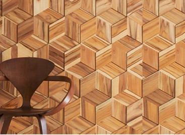 Revestimentos de madeira na decoração