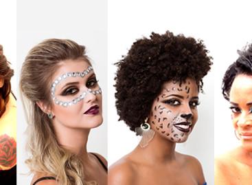 Maquiagem e penteados para o Carnaval