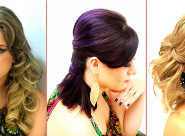 Tendências em cabelos e maquiagens
