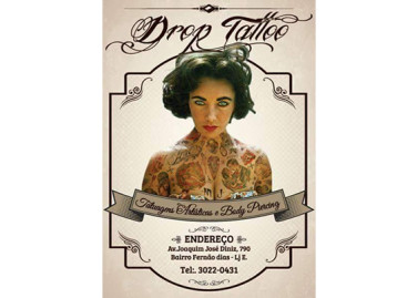 Tatuagem Artística e Body Piercing – Drop Tattoo