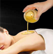 Candle Massage massagem com cera de vela BH Mulher