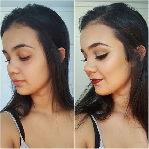 maquiadora domiciliar Rafaela Santana BH Mulher