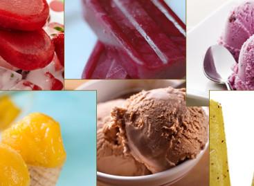 Receitas de sorvetes com frutas