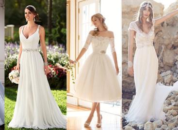 8 tendências em vestidos de noivas