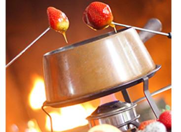 Receita fácil e rápida para um fondue