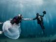 Casamento subaquático em Mônaco