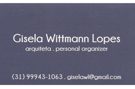 Personal Organizer – Gisela Wittmann Lopes