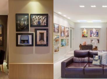 Assimetria de quadros é tendência no décor
