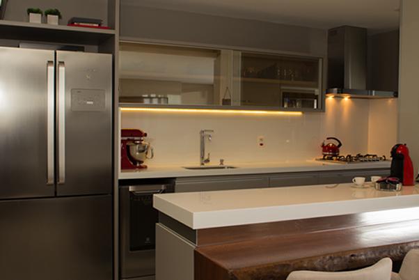 Cozinha Americana integrando espaços e pessoas2 BH Mulher
