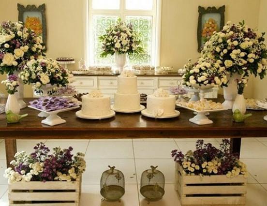 Tendência para casamentos: bolos múltiplos