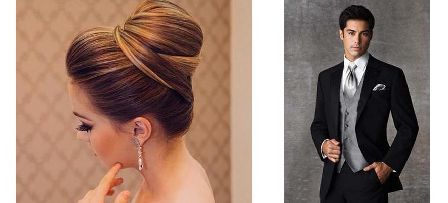 penteados para noivas e noivos classico e atemporal BH Mulher