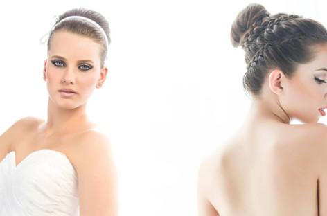 Maquiagem e penteado para noiva clássica