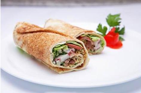 Receita de sanduiche vegano de Falafel