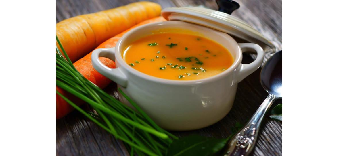Receita de creme de cenouras
