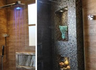 Banheiro inteligente com tema Zen