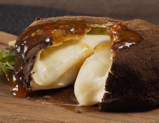 Receita – Queijo brie em crosta