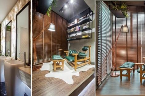 Transforme pequenos espaços em ambientes de puro luxo e relax