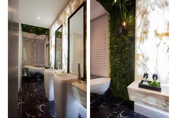 decoração banheiro inserção da natureza BH Mulher