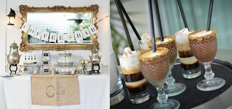 mesa de chá licor café casamento BH Mulher