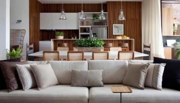 Como integrar a cozinha com a sala de estar