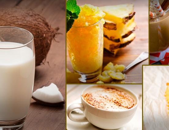 Receitas saudáveis com leita de coco caseiro