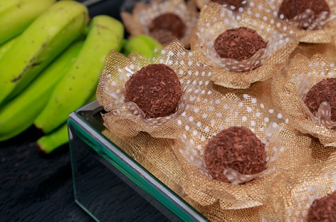 Receita: Brigadeiro Funcional de Biomassa de Banana Verde