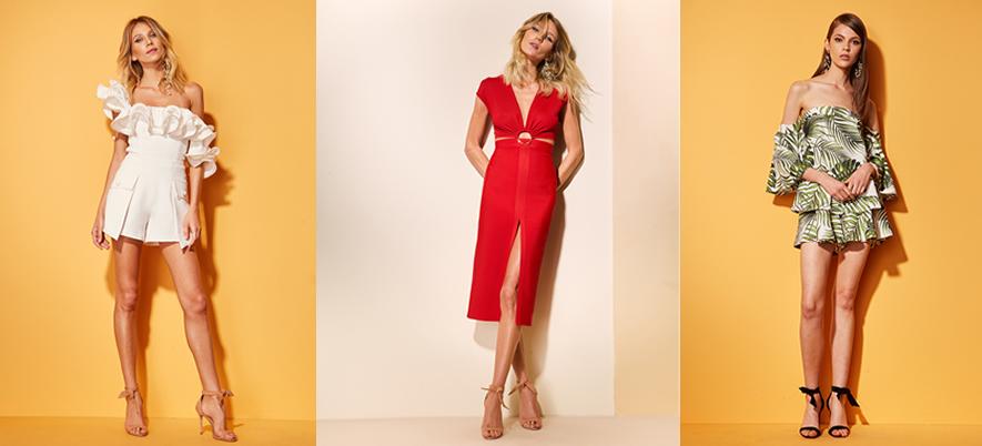 moda vestidos curtos para verão BH Mulher