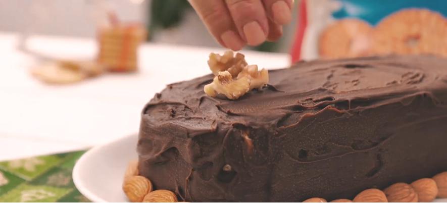 Receita de Torta Gelada de Biscoito BH Mulher