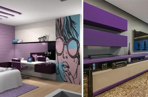 Ultra violet: aposte na cor do ano também para os móveis