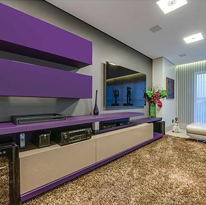cor do ano na decoração ultra violet bh mulher