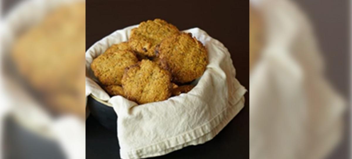 Receita: Cookies com Batata Doce, Mel e Quinoa